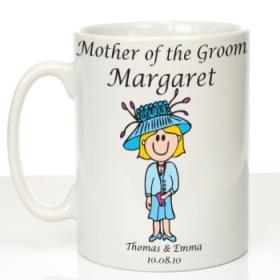 Mother of the Groom Personalised Message Mug