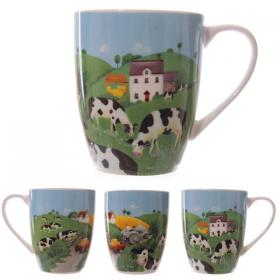 Cows in the Countryside Bone China Mug