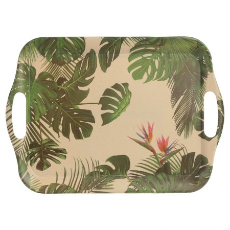 Cheese Plant Design Bambootique Eco Friendly Tray