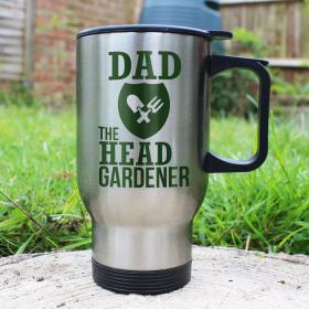 Head Gardener's Personalised Thermal Mug