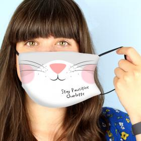 Personalised Face Covering - Cat Face