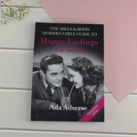 Guide to Happy Endings - Mills and Boon Personalised Guide Book