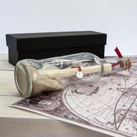 Create Your Own Message in a Bottle with Gift Box