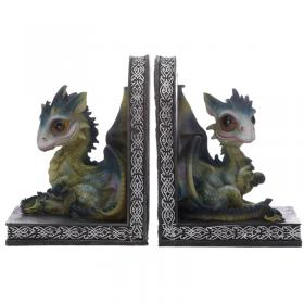 Baby Sweet Dreams Pair of Dragon Bookends