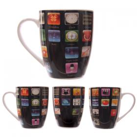 Computer Apps Bone China Mug