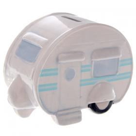 Caravan Money Box - Blue