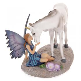 Unicorn Kissing Fairy - Tales of Avalon