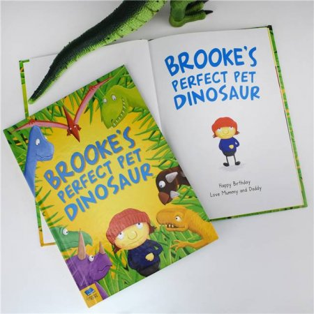 Perfect Pet Dinosaur Personalised Story Book