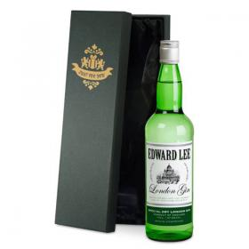 Gin Personalised Classic Label & Gift Box