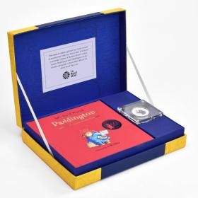 Paddington Bear Royal Mint Silver Proof Coin & Book Set