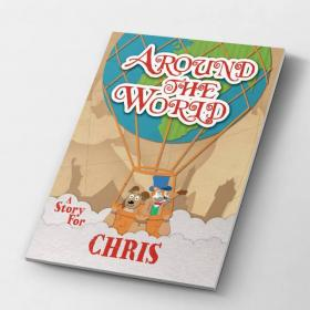 Around the World Personalised Story Book