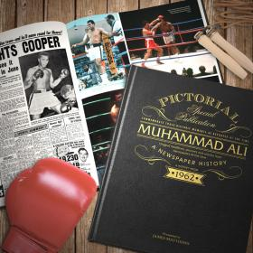 Muhammad Ali - Personalised Boxing Newspaper Book and Gift Box