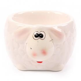 Sheep Egg Cup - Cream Face