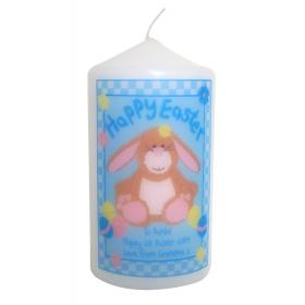 Easter Bunny Personalised Candle
