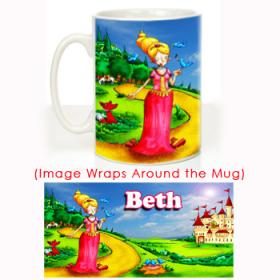 Princess Personalised Mug