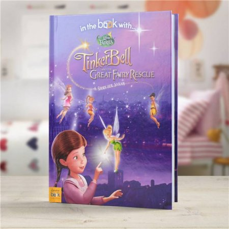 Disney Fairies Tinker Bell Personalised Story Book