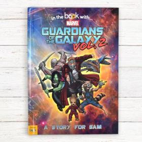 Guardians of the Galaxy 2 Personalised Marvel Book