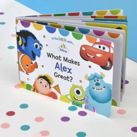 What Makes me Great Personalised Disney Board Book