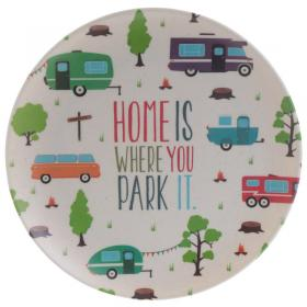 Caravan Design Bambootique Eco Friendly Plate
