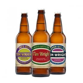 Man's Personalised Craft Beer - Pack of 3