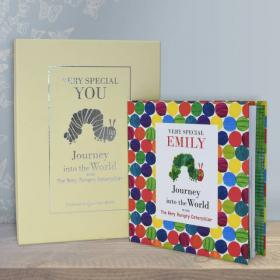 Journey into the World Personalised Book - Hungry Caterpillar