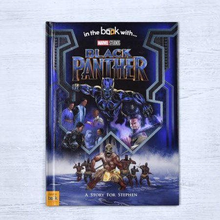 Black Panther Personalised Marvel Book