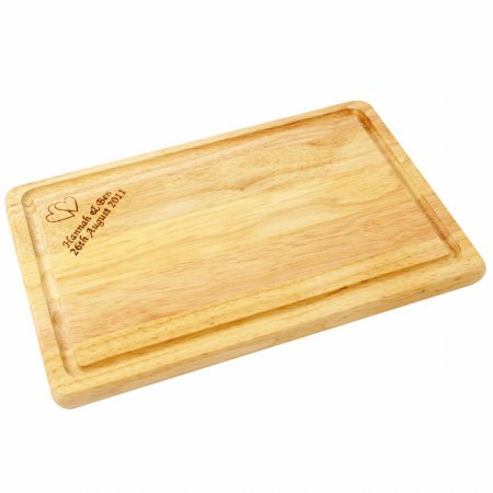Personalised Wooden Chopping Board - Rectangular