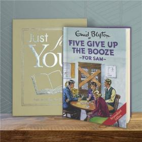 Famous Five Give up the Booze Personalised Book