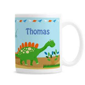 Dinosaur Personalised Ceramic Mug