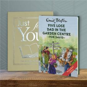 Famous Five Lose Dad in the Garden Centre Personalised Book