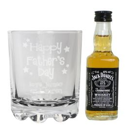 Father's Day Personalised Jack Daniels Gift Set