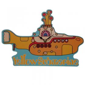 Beatles Yellow Submarine Wall Clock