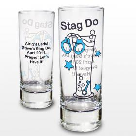 Stag Do Personalised Shot Glass