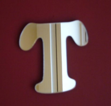 Letter T Mirror