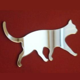 Cat Walking Mirror 35cm