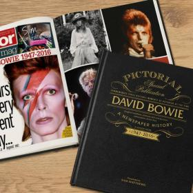 David Bowie Newspaper Personalised Book and Gift Box