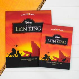 Lion King Personalised Disney Collection Book