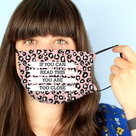 Personalised Face Covering - Leopard