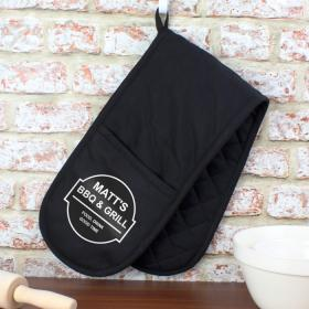 BBQ & Grill Personalised Oven Glove