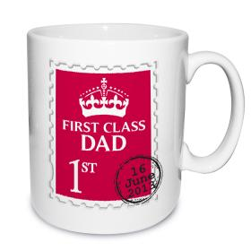 First Class Personalised Role Mug