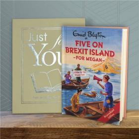 Famous Five on Brexit Island Personalised Book