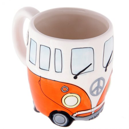 VW Camper Van Mug - Orange
