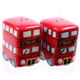 Bus London Routemaster Salt and Pepper Set