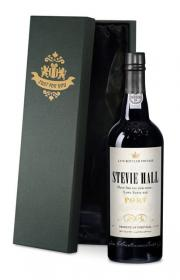 LBV Port with Antique Personalised Label in a Silk Gift Box
