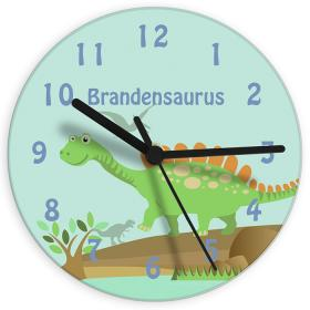 Dinosaur Personalised Clock