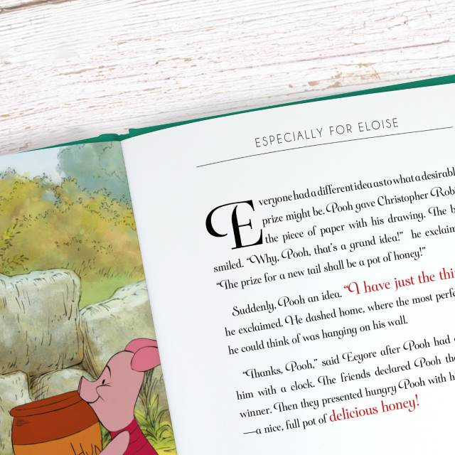 Winnie the Pooh Personalised Disney Timeless Book