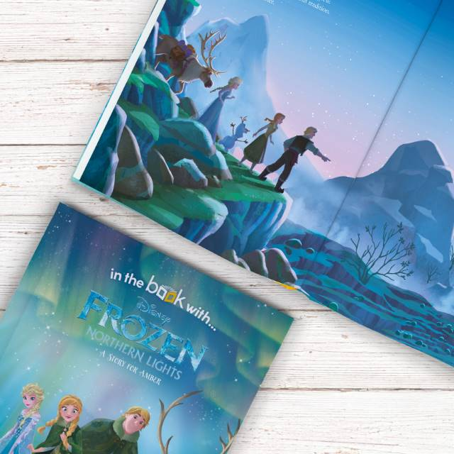 Frozen Northern Lights Personalised Disney Book