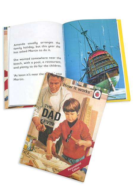 Dad Personalised Ladybird Book
