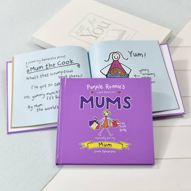 Personalised Purple Ronnie Books