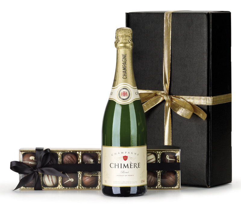 Wine and Chocolate Gift Hampers